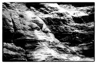 starved rock limestone BW-